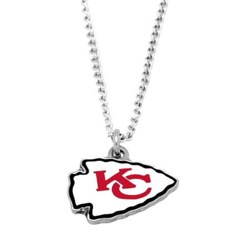 NFL Kansas City Chiefs Sports Team Logo Necklace - Multi-color