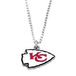 NFL Kansas City Chiefs Sports Team Logo Necklace - Multi-color