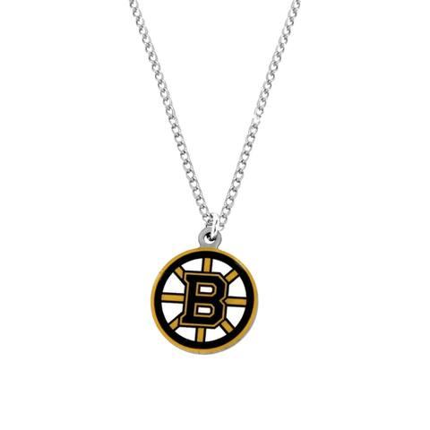 NHL Boston Bruins Sports Team Logo Necklace - Multi