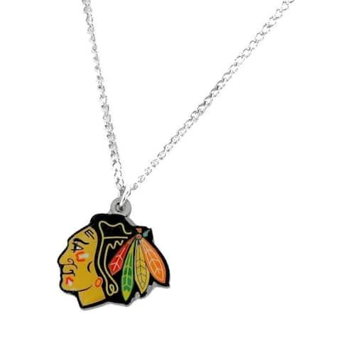 NHL Chicago Blackhawks Sports Team Logo Necklace - Multi