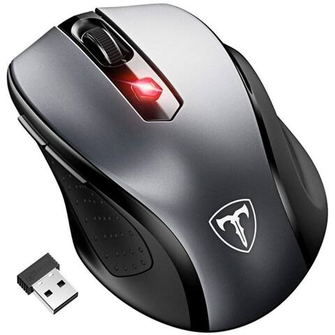 VicTsing 2.4G USB Wireless Mouse Optical PC Laptop Computer Cordless Mouse with Nano Receiver