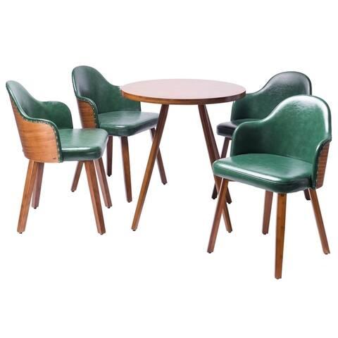 Carson Carrington Cullybackey 5-piece Mid-century Dining Set