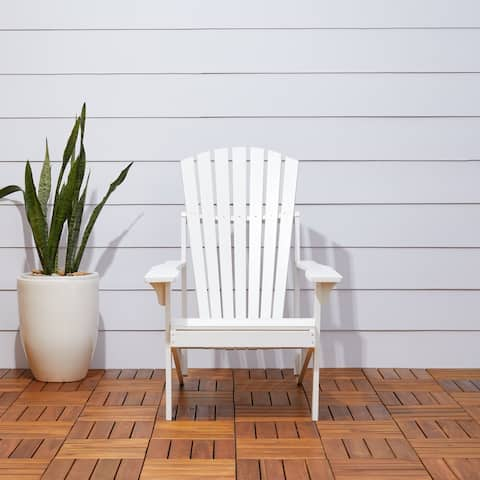 Renaissance Outdoor Patio Wood Adirondack Chair