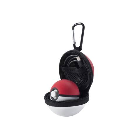 Nintendo Poke Ball Plus, INSTEN Protective Carrying Case with Carabiner for Nintendo Poké Ball Plus