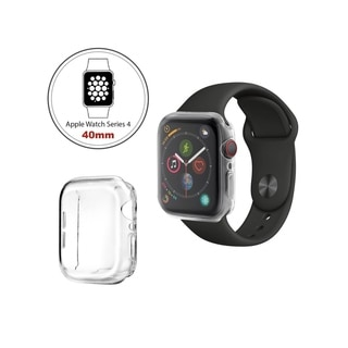INSTEN Apple Watch Series 4 Series 5 [40mm/44mm] Clear TPU Protective Cover Case