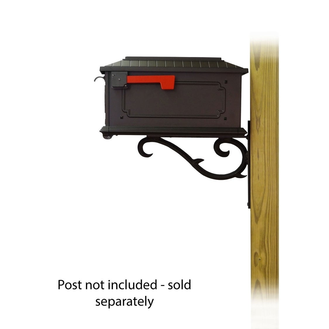 Shop For Special Lite Products Kingston Curbside Mailbox With Sorrento Front Single Mailbox Mounting Bracket Get Free Delivery On Everything At Overstock Your Online Home Improvement Shop Get 5 In Rewards With Club O 25756130