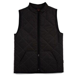 Wear First Micro Board Quilted Vest- Black