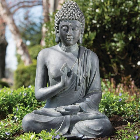 Thai Buddha Garden Statue