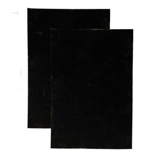 LivePure CocoCarbon Pre-Filter for Aspen Air Purifier, 2 Pack - Black