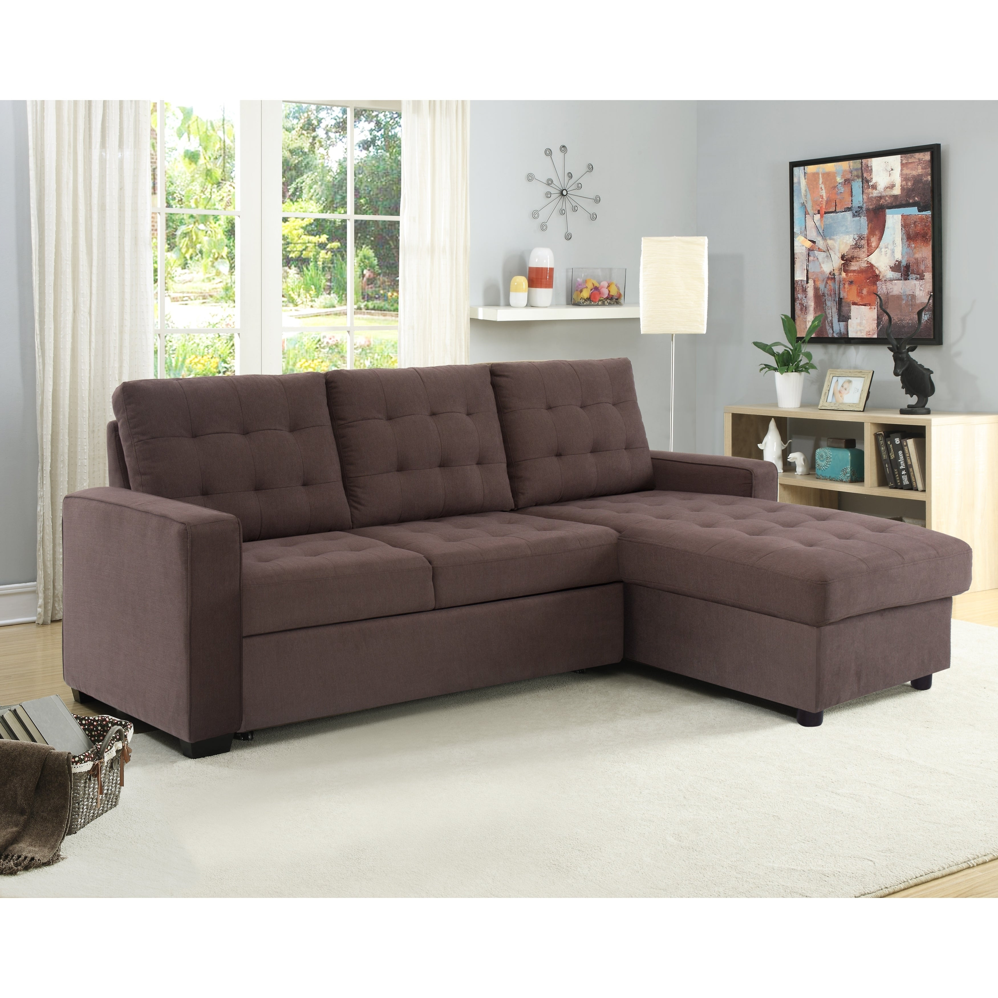 Strange Serta Bradley Convertible Sofa And Chaise Gmtry Best Dining Table And Chair Ideas Images Gmtryco