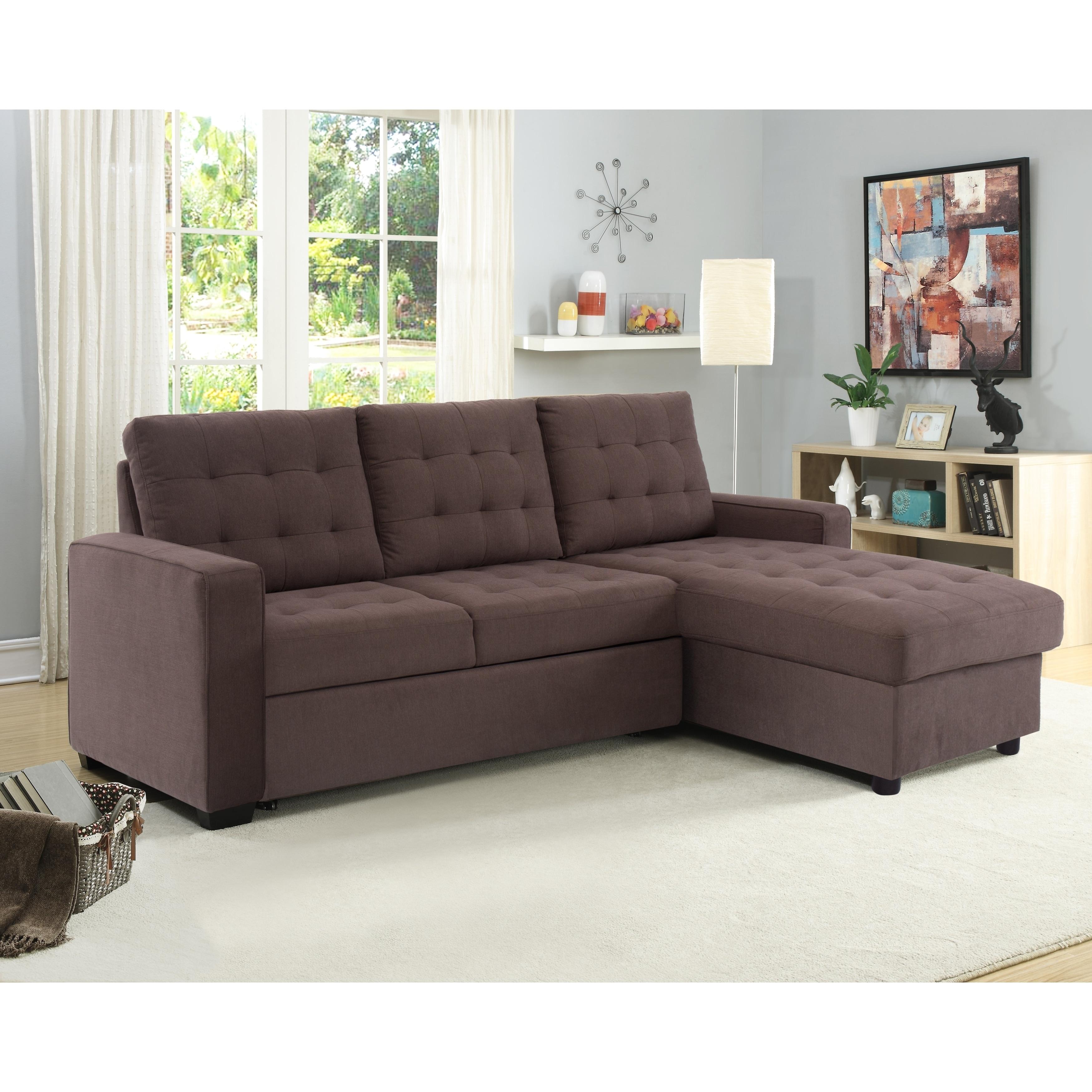Serta Bradley Convertible Sofa and Chaise