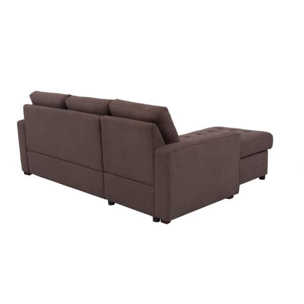 Fine Shop Serta Bradley Convertible Sofa And Chaise Free Gmtry Best Dining Table And Chair Ideas Images Gmtryco