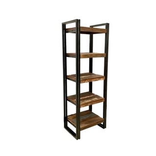 "Handmade Old Reclaimed Wood Tall Rack - 71"" H x 24"" W  x 16"" D"