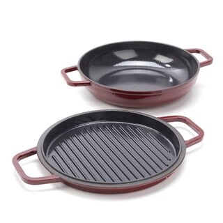Link to Michael Symon Home 3.75-Quart Cast Iron Enameled Casserole w/ Lid Similar Items in Cookware