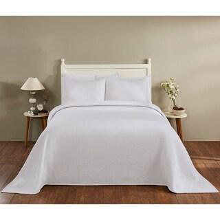 Matelasse Bedspread Queen 102X110 Natural
