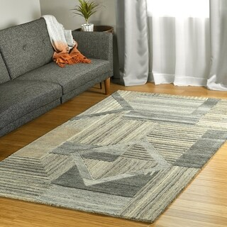 Link to Colab Handmade Wool Area Rug Similar Items in Transitional Rugs