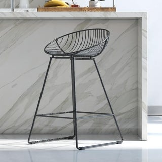 CosmoLiving by Cosmopolitan Ellis Wire Counter Stool