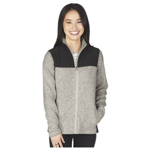 Charles River Women's Brushed Sweater Fleece