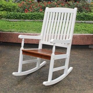 International Caravan Highland Porch Traditional Rocking Chair