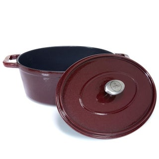Michael Symon Home 4.5-Quart Enameled Cast Iron Oval Dutch Oven Model 591-482