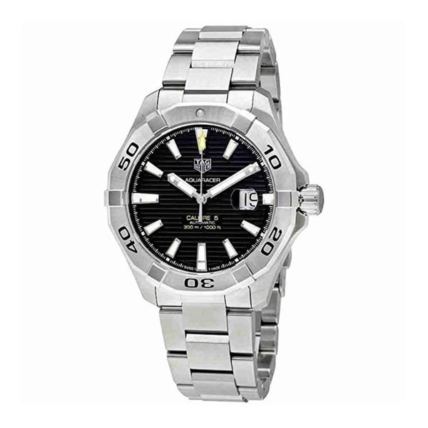 91bf93b3c23 Shop Tag Heuer Aquaracer Automatic Mens Watch WAY2010.BA0927 - Free  Shipping Today - Overstock - 25767556