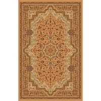"Abstract Beige 8x11 Contemporary Area Rug - 7'10"" x 10'6"""