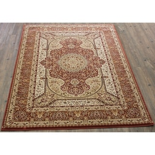 """8x11 Abstract Area Rug Rose - 7'10"""" x 10'6"""""""