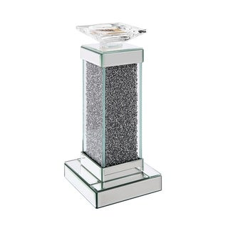 ACME Rekha Accent Candleholder, Mirrored