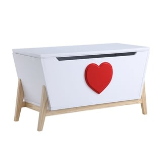 Link to ACME Padma Youth Chest, White and Red Similar Items in Kids' Dressers