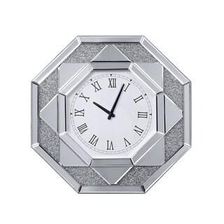 ACME Maita Wall Clock, Mirrored