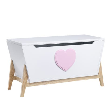 ACME Padma Youth Chest, White and Pink