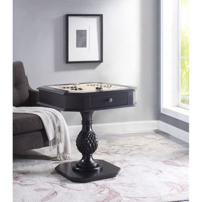 ACME Bishop II Game Table, Black