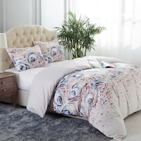 Super Soft Beauty Pattern Printed 3 Piece Duvet Cover Set