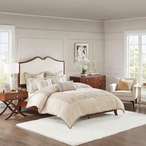 Madison Park Signature Eleanor Brown Queen Bed