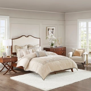"Madison Park Signature Eleanor Brown Queen Bed - 86""l x 65""w x 60""h"