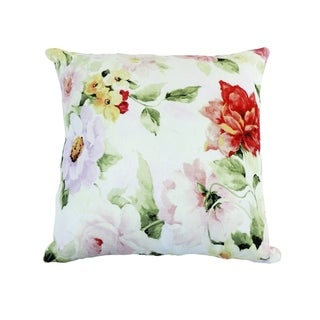LR Home Delicate Floral Throw Pillow 18 inch