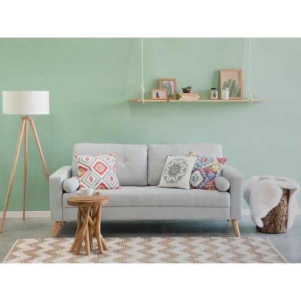 Miraculous Shop Fabric Sofa Kalmar Free Shipping Today Overstock Bralicious Painted Fabric Chair Ideas Braliciousco