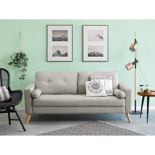 Sensational Shop Fabric Sofa Kalmar Free Shipping Today Overstock Bralicious Painted Fabric Chair Ideas Braliciousco
