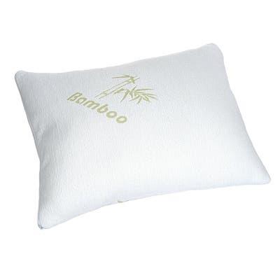 Bamboo Pillow - White