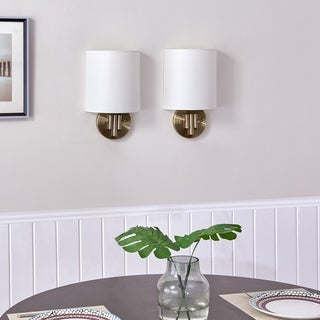 Harper Blvd Warnell Indoor Decorative Wall Sconces - 2pc Set