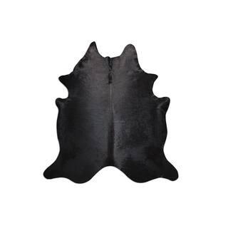 Black Beauty Natural Cowhide Rug - 6' x 8'
