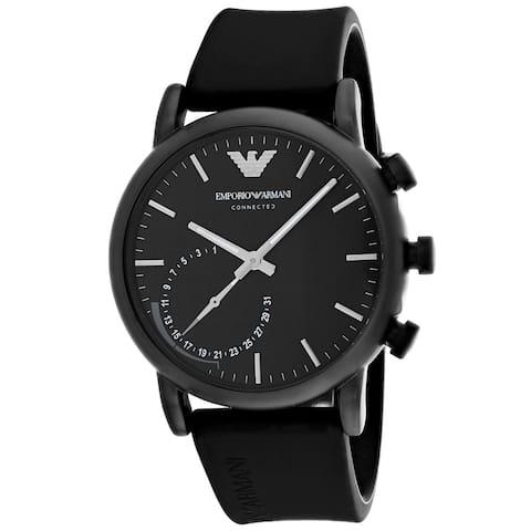 Armani Men's Connected Black Dial Watch - ART3016