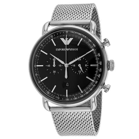 Emporio Armani Men's AR11104 'Dress' Chronograph Stainless Steel Watch