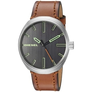 Link to Diesel Men's DZ1831 'Klutch' Brown Leather Watch Similar Items in Men's Watches
