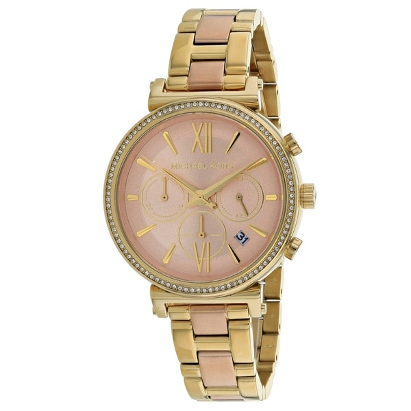 00eda62eab4a Shop Michael Kors Women s Sofie MK6584 Watch - N A - Free Shipping Today -  Overstock - 25769789