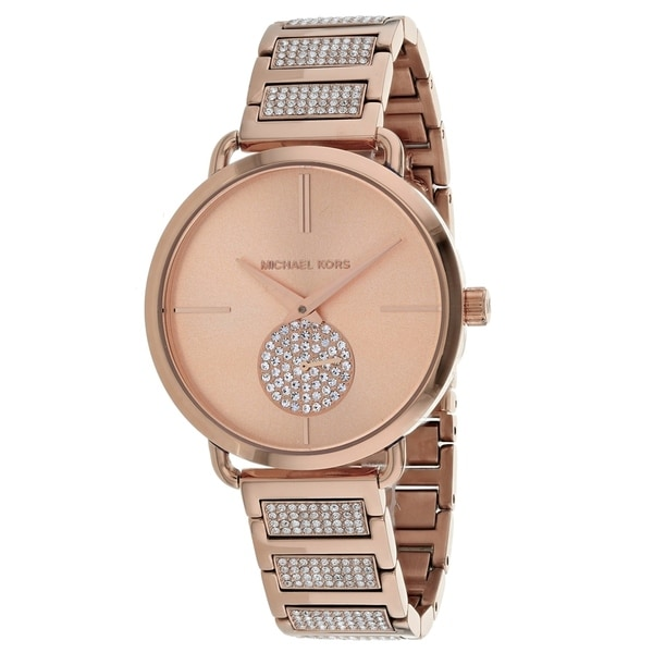 506530ec95c16a Shop Michael Kors Women's Portia MK3853 Watch - N/A - Free Shipping Today -  Overstock - 25769793