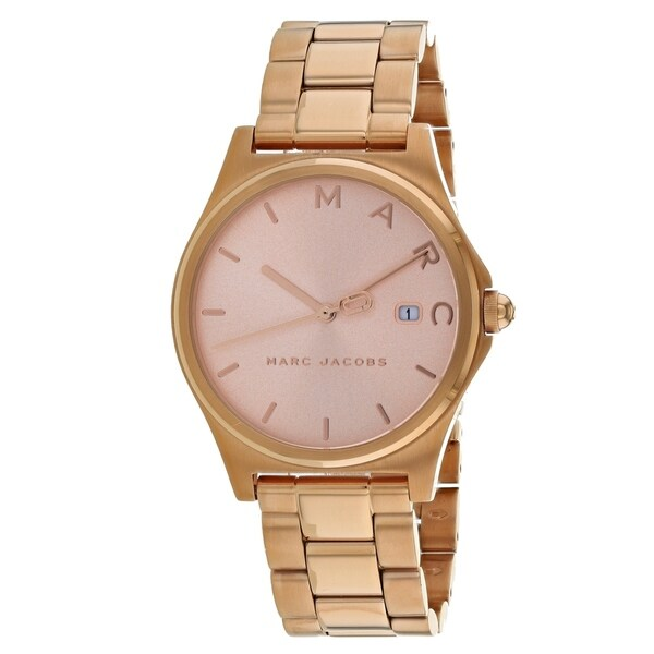 ee143fb137c31 Shop Marc Jacobs Women's Henry MJ3585 Watch - N/A - Free Shipping Today -  Overstock - 25769819