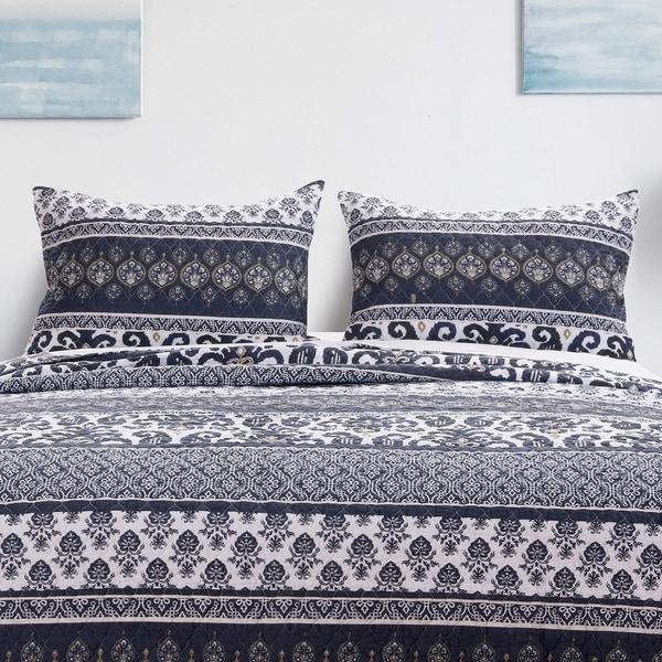 Barefoot Bungalow Native Indigo Pillow Sham Set (Set of 2 Shams)