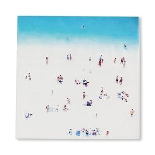Mercana Whitewash BeacH (30 X 30) Made to Order Canvas Art
