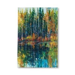 Mercana Pine Reflection I (MC) (30 X 45) Made to Order Canvas Art